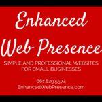 enhanced web presence small business marketing and wordpress website design in Bakersfield, CA
