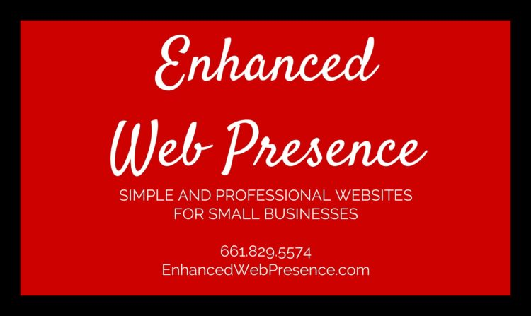 enhanced web presence small business marketing and wordpress website design in Bakersfield, CA