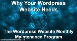 wordpress website maintenance program